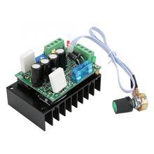 Controlador de velocidad de Motor DC PWM 12 50V 15A con protección contra sobrecorriente para MACH3, regulador de velocidad USB CNC PLC