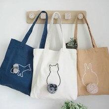 2019 new Solid Corduroy Shoulder Bags Environmental Shopping Bag Tote Package Crossbody Purses Casual Handbag For Women