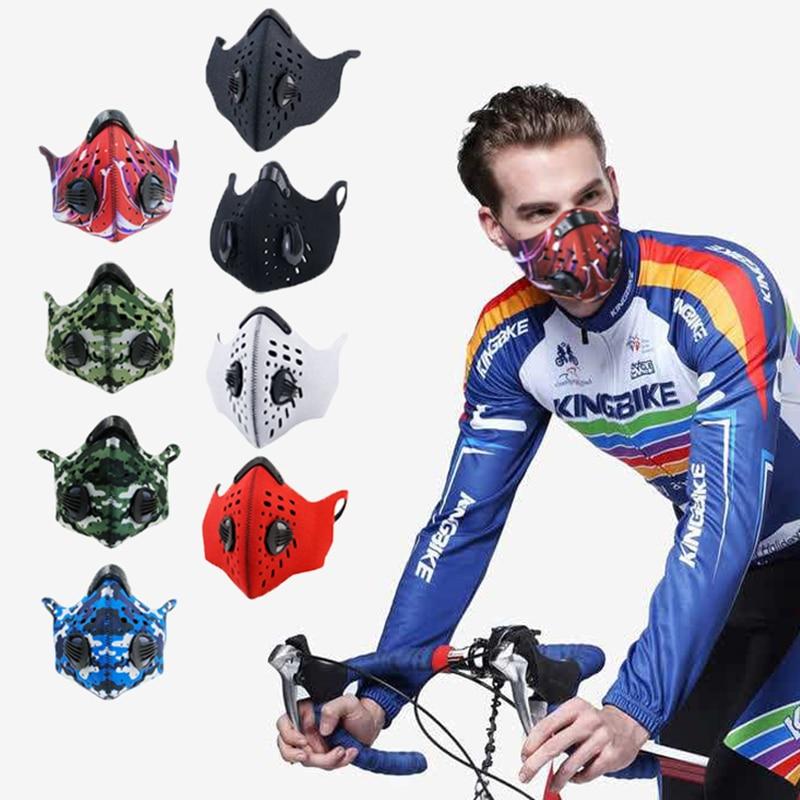 Washable Riding Sport Mask Smog Anti-virus Anti Air Pollution Mask Smog Air Face Fashion Half Face Running Mask
