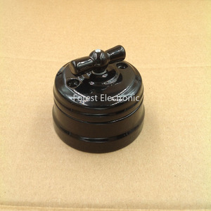 Image 3 - Home Improvement Hoge Kwaliteit Eu Keramische Schakelaar 2 Manier Wandlamp Schakelaar Smart Licht Knop Schakelaar 10A