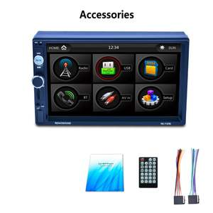 Car Button Mp5-Player Back-Light 7-Color Lcd-Touch-Screen HD 1080P 7-Mirror-Link RK-7157B
