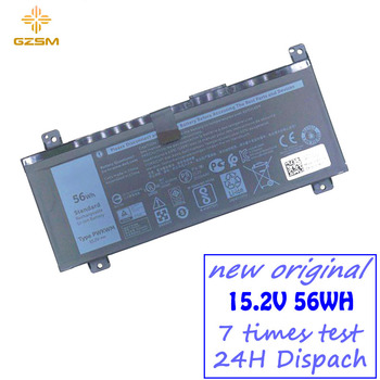 GZSM laptop battery PWKWM For Dell Inspiron 14-7466 14-7467 battery for laptop 7000 56WH battery