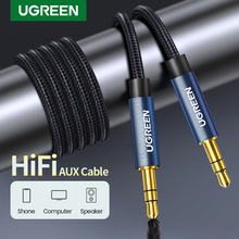 Ugreen Jack 3 5 Audio Cable 3 5mm Speaker Line Aux Cable for iPhone 6 Samsung