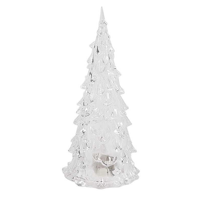 Acrilico LED Colori Che Cambiano Albero Di Natale di Notte Della Lampada Della Luce di Natale Del Partito Decor