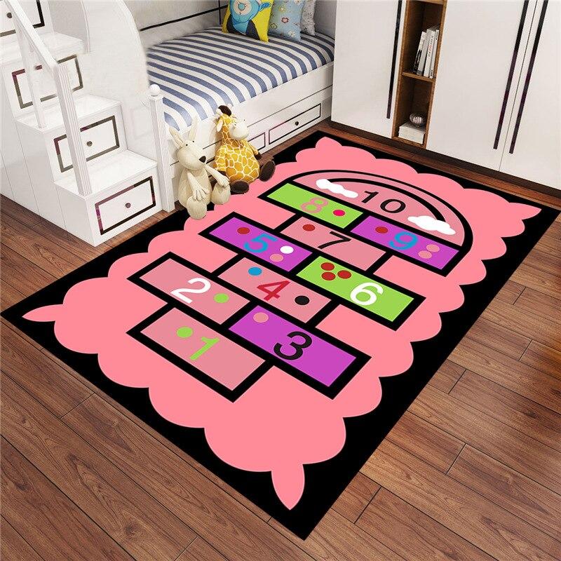 Bébé tapis de jeu doux ramper tapis voiture piste modèle Puzzles apprentissage jouet/dessin animé Style enfants chambre décoration sol tapis CF