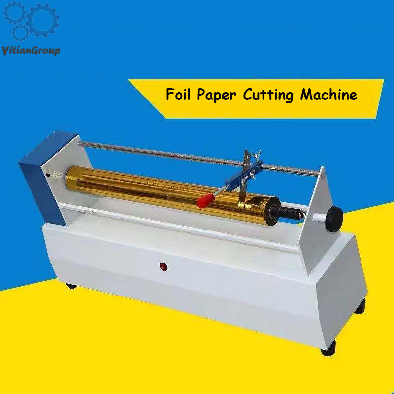 Electric Foil Paper Cutting Machine Cutting Electromechanical Aluminum Slitter Ribbon Separator Slitting Machine