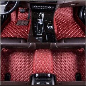 Пользовательские автомобильные напольные коврики для Citroen все модели C4-Aircross C4-PICASSO C5 C2 C4 C6 C-Elysee C-Triomphe автомобильные аксессуары