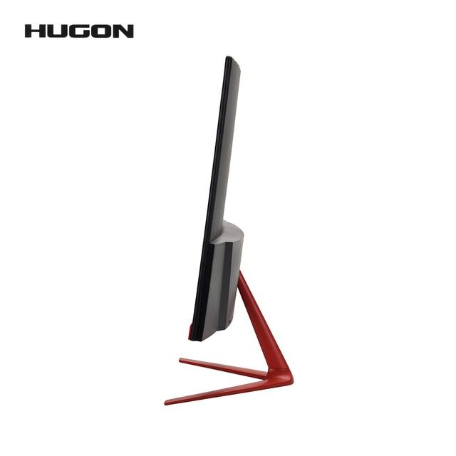 HUGON 24 Inch 1920×1080p TFT/LCD PC 75Hz HD Curved Gaming Monitor Display Desktop Screen VGA For HDMI Interface 3