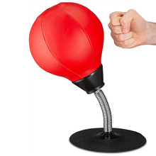 Handmade Vent Ball Adult Decompression Artifact Office Table Top Speed Ball Decompression Small Sucker Boxing Vent Ball Toy