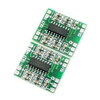 цена на 2PCS PAM8403 2X3W Mini Audio Class D Amplifier Board 2.5-5V Input Compatible Board for Electronic Components