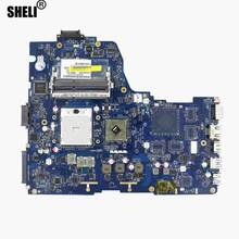 Sheli para k000126000 placa-mãe LA-7291P toshiba satellite p750d p755d 100% trabalho de teste