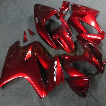Custom motorcycle cowl for VFR800 2002-2008 ABS plastic Fairing Injection mold red