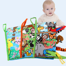 Book-Toys Baby Fabric-Book Cloth for Newborns Kids Ratteles-Toy Develop Cognize Early-Learning