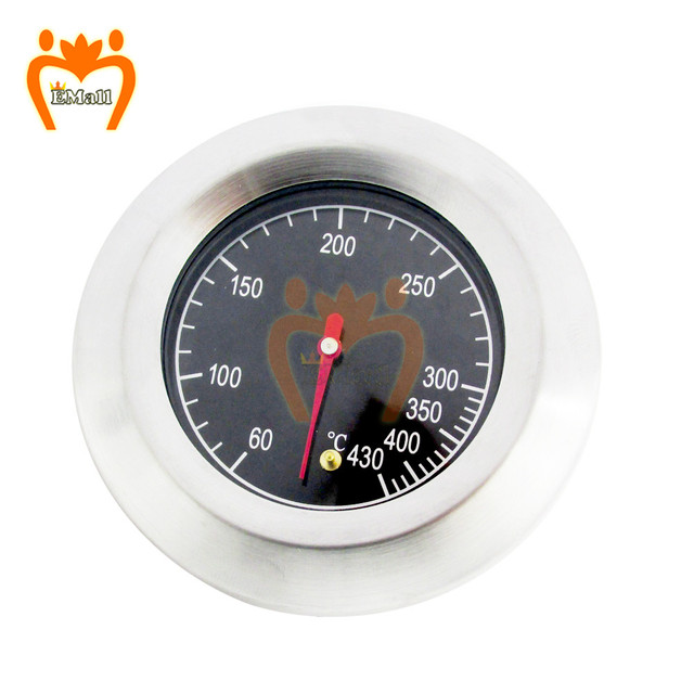 Stainless Steel BBQ Accessories Grill Meat Thermometer Dial Temperature Gauge Gage Cooking Food Probe Household Kitchen Tools 5