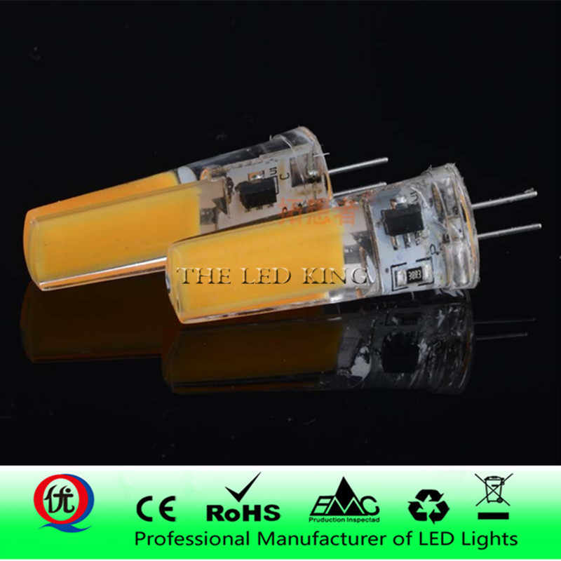 Dimmable LED Mini Corn Bulb G4 G8 G9 E11 E12 E14 COB Ampoule LED Diode Chandelier Spotlight High Lumen No Flicker 3000K 6000K
