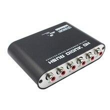 5.1 Ch Digital Audio Decoder Coaxiale Te AC3 Dts Versterker Analoog Converter Met Usb Kabel