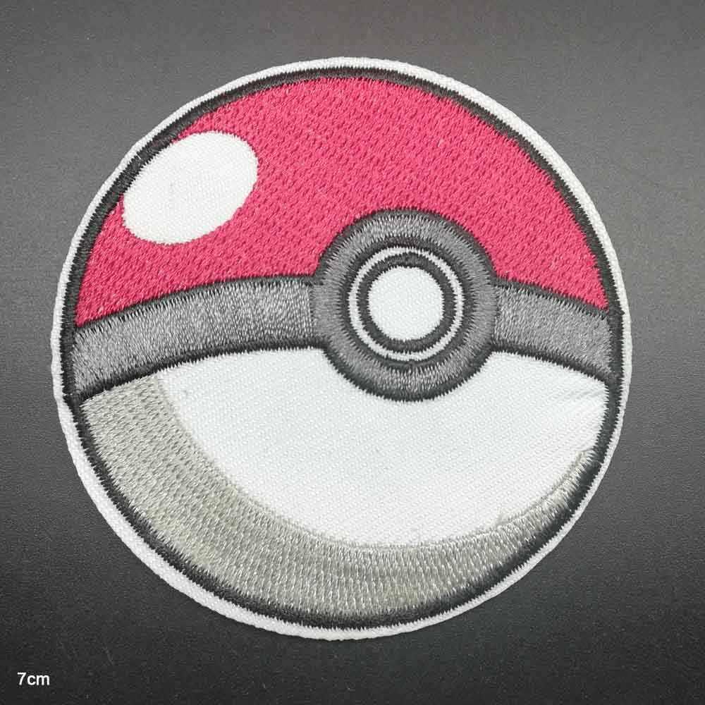 만화 Squriel Pikachu Anime Pokemon 의류에 대한 수 놓은 옷 패치에 저렴한 다림질 다리미 도매 청바지 배낭
