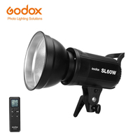 Free DHL Godox LED Video Light SL 60W 5600K White Version Video Lamp SL Continuous Light Bowens Mount for Studio Video Recording