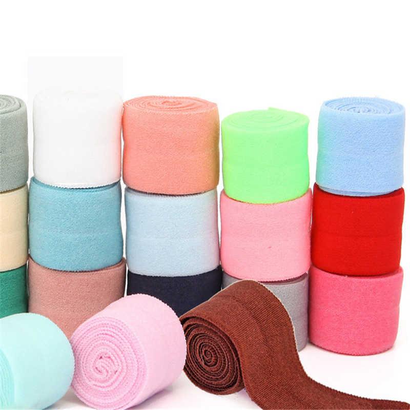 1mter naylon Spandex dokuma şerit bağlama bantları elastik bant çanta dikiş kumaş 2cm