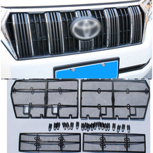Stainless Steel Insect Net Screening Mesh Front Grille Insert Net For Toyota Land Cruiser Prado 150 FJ150 2010-2018 Accessories