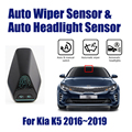 Для Kia K5 2016 ~ 2019 умная автомобильная система ассистента вождения Автомобильный Автоматический Датчик стеклоочистителя s & фар R & D датчик