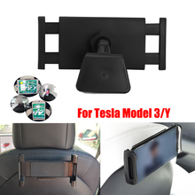 Auto Tablet Halter Zurück Sitz Halterung iPad mini 4 Handy iPhone XS Galaxy note 10 + Halterung Für Tesla modell 3/Y Audi Q8 sport