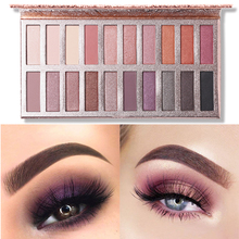 UCANBE Brand 20 Colors Eyeshadow Makeup Palette Shimmer Matte Radiant Pigmented Cosmetic Eye Shadow Powder Natural Sexy Eye Set lipstick eyeshadow palette makeup set 9 colors shimmer matte metallic eye shadow powder makeup galaxy eyes cosmetic kit for girl