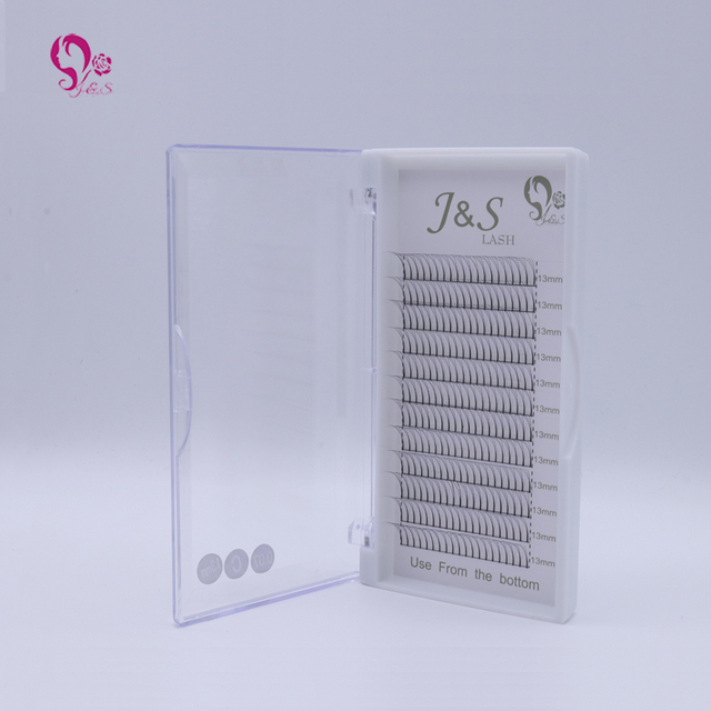10trays volume W 3D Eyelash Extension 0.10 Individual Eye Lashes Professional Makeup Tools Thick Long Lash From Korea 2