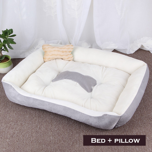 Bone Pet Bed Warm Pet Products For Small Medium Large Dog Soft Pet Bed 2