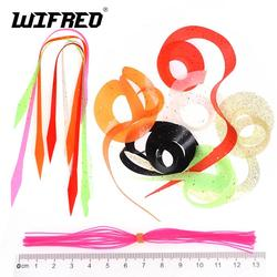 10pcs Silicone Octopus Skirt Trailers Streamer Spinnerbait Buzzbait Rubber Saltwater Fishing Jig Lures Material