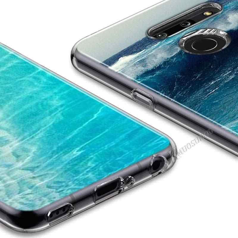 Meer Ozean Stil für LG W20 W10 V50S V50 V40 V30 K50S K40S K30 K20 Q60 Q8 Q7 Q6 G8 g7 G6 ThinQ Telefon Fall
