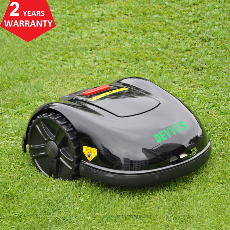 DEVVIS Two Year Warranty 5th Generation Robot Grass Cutter E1600T For Big Lawn 300m300pcs pegs24pcs blade