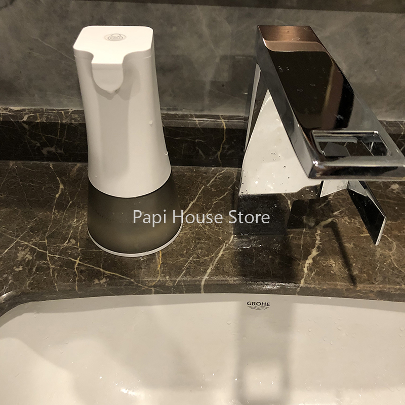 USB Rechargeable Automatic Foam Soap Dispenser IPX4 Waterproof 0.25s High Sensitive Sensor 350ML Kitchen Bathroom Hand Wash