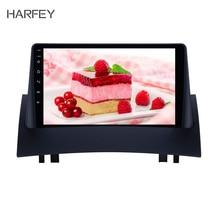 Harfey HD сенсорный экран 9 дюймов Android 8,1 радио gps-навигатор для 2004-2008 Renault Megane 2 с Bluetooth AUX поддержка Carplay TPMS