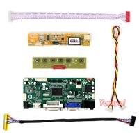 Yqwsyxl Control Board Monitor Kit for LTN133W1-L01 HDMI + DVI + VGA LCD LED screen Controller Board Driver