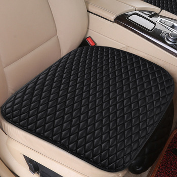 Flash mat Universal Leather Car Seat Cover for BMW e30 e34 e36 e39 e46 e60 e90 f10 f30 x1 x3 x4 x5 x6 1/2/3/4/5/6/7 accessories image