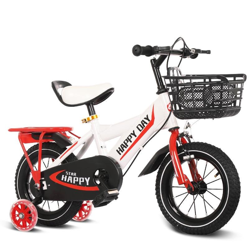 12/14/16/18 Inch Children's Two Wheel Bike Boy Girl Bicycle Multi-color Optional 2-8 Years Old Kids Bike