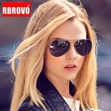 RBROVO 2018 Pilot Sunglasses Women/Men Top Brand Designer Luxury Sun Glasses For