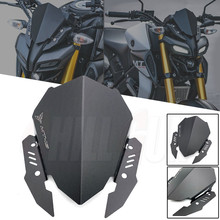 אופנוע אביזרי סגסוגת מסך ספורט שמשות שמשה קדמית מטה הטיה עבור ימאהה MT15 MT 15 2019 2020 2021 MT125 2020 2021