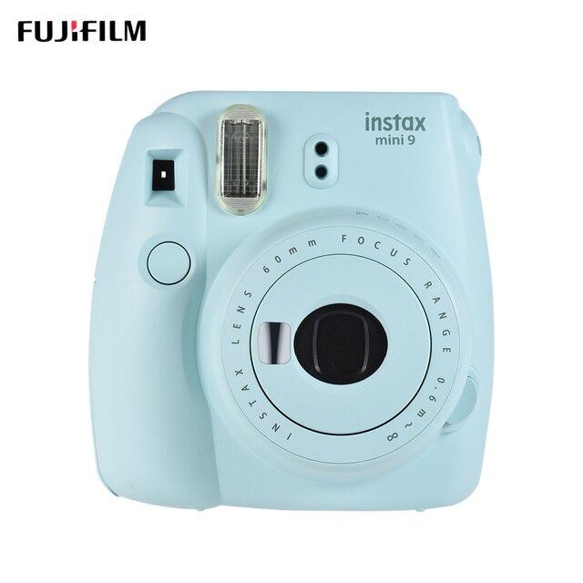 Cámara de película instantánea Fujifilm Instax Mini 9 con espejo de Selfie, cámara Instax de 5 colores