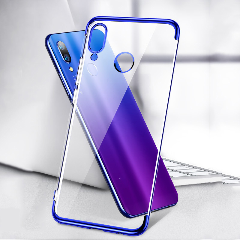 Clear Silicone Case for Redmi 8A 5 Plus 7A 6A Note 9S 9 5A 6 7 8T 8 5 Pro Clear Soft TPU Cover for XIAOMI MI 9 8 Lite SE A2 A3(China)