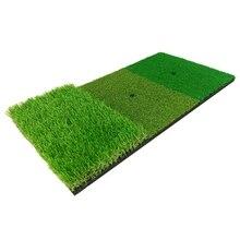 Artificial Grass Golf Practice Mat Lawn Nylon Rubber Tee Backyard Outdoor Hitting Durable Training Pad