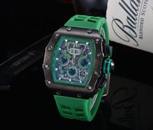 2020 nowy Richard męskie zegarki Top marka luksusowe zegarki męskie Mille DZ mężczyzna zegar kwarcowy automatyczne zegarki na rękę tanie tanio ZHIMO Luxury ru QUARTZ STAINLESS STEEL Nie wodoodporne CN (pochodzenie) Klamra 20mm Hardlex Male watch 20inch Skórzane
