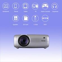 Uhappy U43 светодиодный ЖК-проектор 1080P домашний кинотеатр пульт дистанционного управления проектор экран HD 16:9 для ноутбука dvd-плеер
