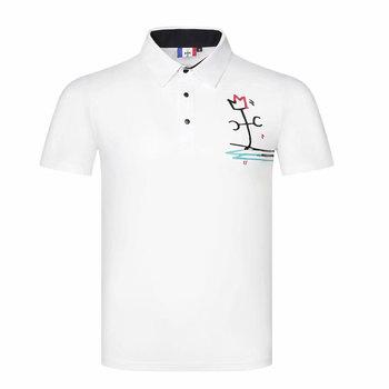 Mężczyźni nowy koszulka sportowa lato z krótkim rękawem t-shirt do golfa 3 kolor S-XXL w wyborze odzież golfowa tanie i dobre opinie Cooyute Poliester Modalne COTTON Włókno bambusowe Szybkie suche Anty-pilling Przeciwzmarszczkowy Wiatroszczelna Koszule