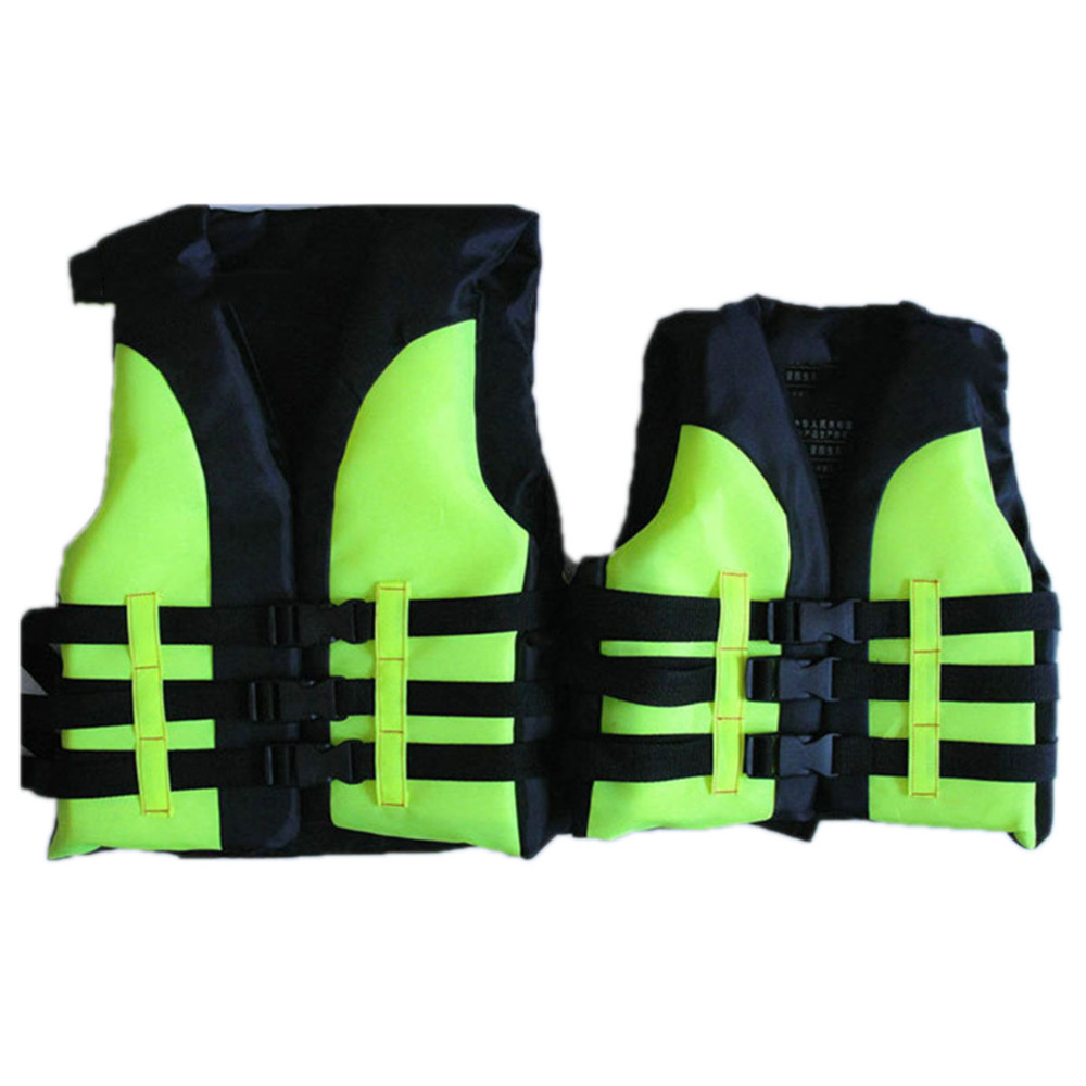 Children's Life Jacket Vest Swimming Set For Drifting Boating Swimming Sports For Survival Safety Water Swimwear Kid's Vest