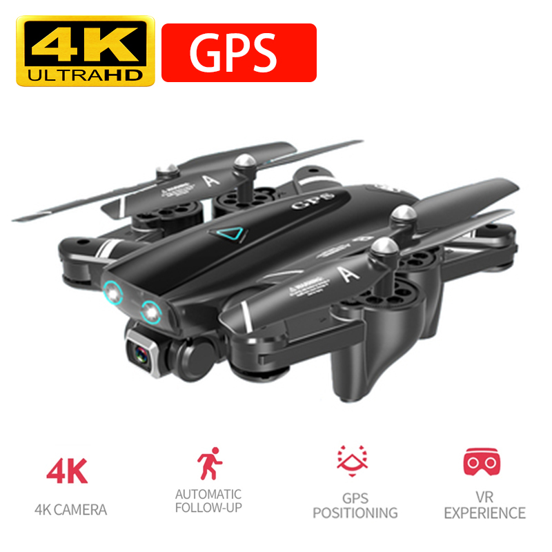 S167 GPS Drone With Camera 5G RC Quadcopter Drones HD 4K WIFI FPV Foldable Off-Point Flying Photos Video Dron Helicopter