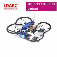 KINGKONG/LDARC 90GTI-HD/90GTI-FPV 98mm 3S 2 pouces gros FPV course RC Drone BNF/PNP w/20A Blheli_S sans balai ESC 200mW VTX