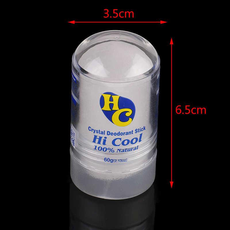 60g alun bâton déodorant bâton antitranspirant alun cristal déodorant aisselles enlèvement pour les femmes homme