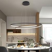 NEO Gleam New Arrival Modern led Pendant lights for living room dining room Matte Black/White 90 260V hanging Pendant lamp